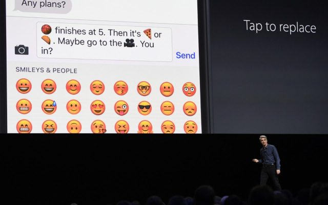 Apple added new features to iMessage including replacing words with emojis and making person to person pay transfers