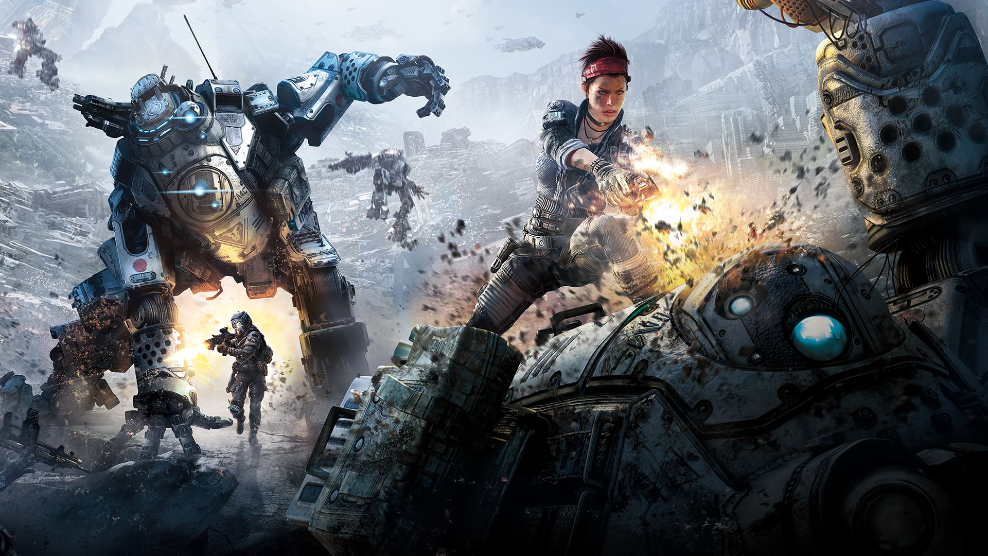 Titanfall Creators Respawn Teaming Up with Oculus for a New Game
