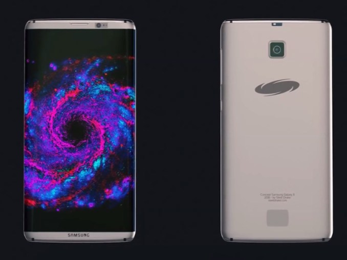 Concept art for the Galaxy S8