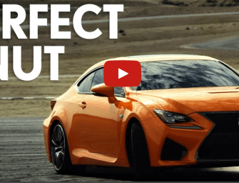 Lexus – RC F Executes a Perfect Donut