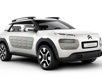 Compressed-Air Hybrid By Citroen For Paris Motor Show: Cactus Airflow 2L Concept