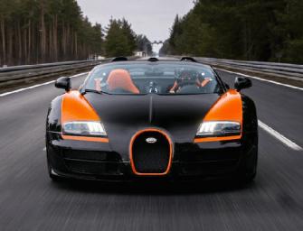 DJ Afrojack Hits 200MPH in a Bugatti Like It's No Big Deal