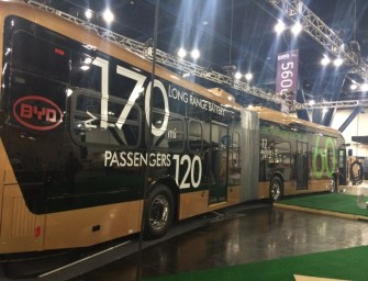 BYD UNVEILS WORLD'S LARGEST BATTERY ELECTRIC VEHICLE