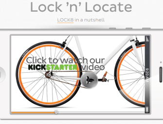 TechBike: See How A Tech-Savvy Rider Locks His Bike