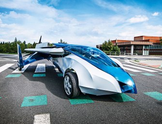 THE FLYING CAR MAY HAVE JUST LANDED
