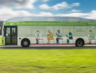 UK's First 'Poo Bus' Hits The Road