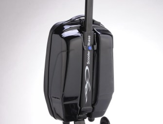 Tired Of Walking Around The Airport? Get A Scooter-Suitcase