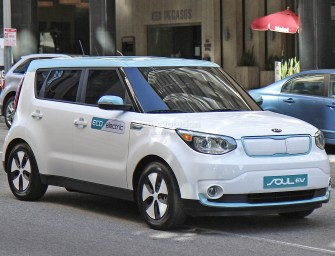 The First Kia Electric Car Hits The States