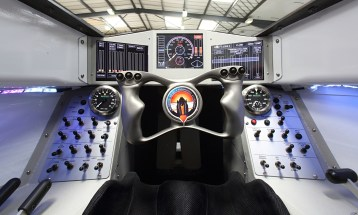 SSC Bloodhound jet car