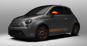 2013 Fiat 500e with e-Sport Package