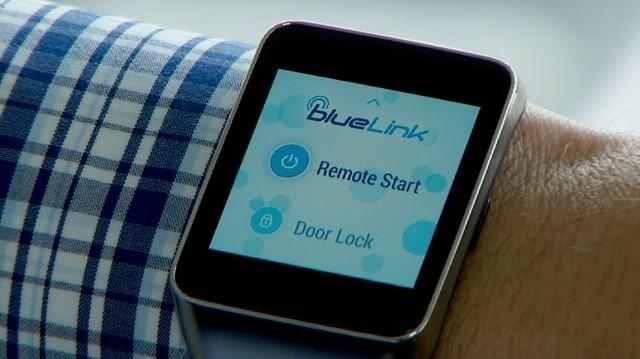 Hyundai Blue Link Smartwatch App
