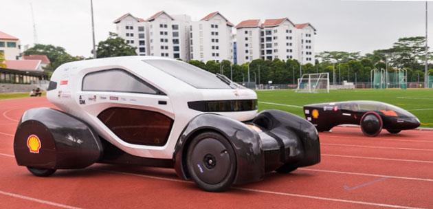 Singapore Students Build 1st 3D-Printed Concept Car - TechDrive