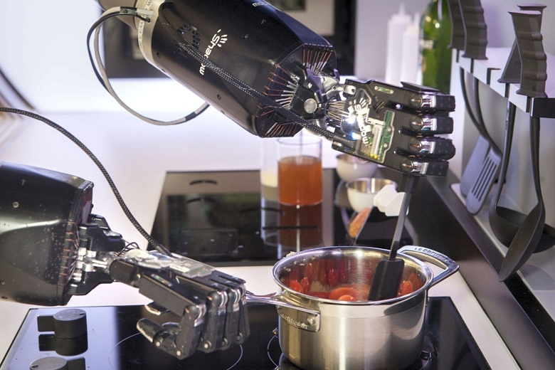 kitchen robot honest dog food moley builds robots that cook for you techdrive