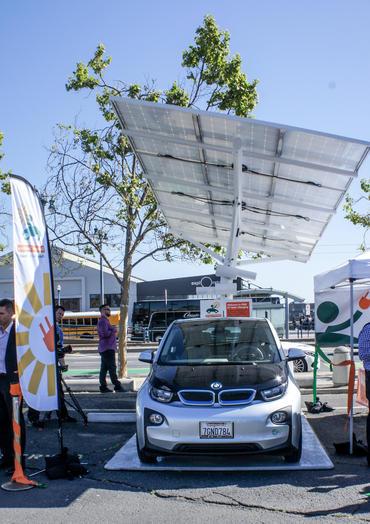 Envision Solar EV charging station