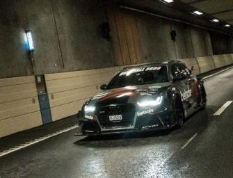 Audi RS6 Wagon Drives for Uber
