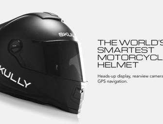 Skully AR-1- The Future Of Motorcycle Helmets?