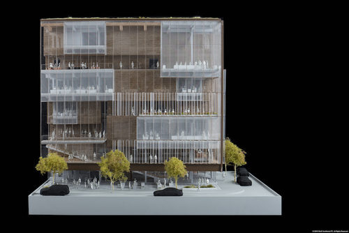 Uber Headquarters_Exterior Model_SHoP Architects PC