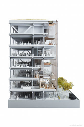 Uber Headquarters_Model_SHoP Architects PC