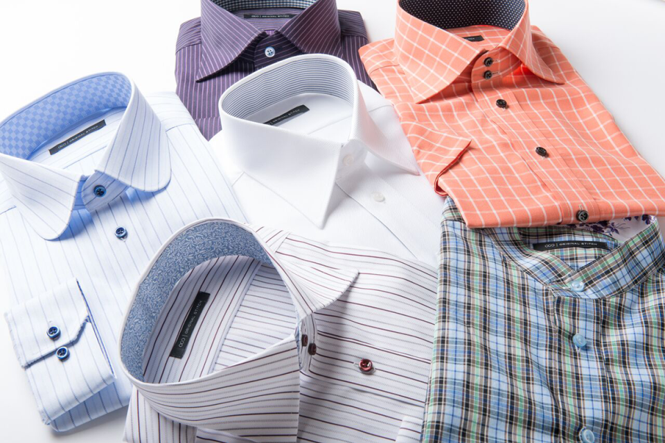 With 15 points of customization (from button colors to collar types), Original Stitch offers over 5 billion potential design combinations for button-down shirts.
