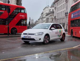 Zipcar To Introduce More Than 300 e-Golf Electric Cars In London