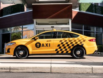 Ford Unveils Hybrid and Diesel Taxis
