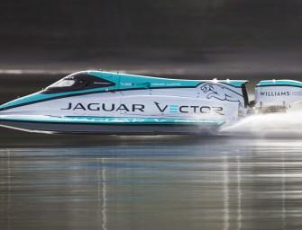 Jaguar Vector Racing Break World Electric Speed Record