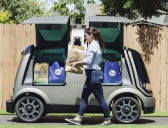 Kroger, Nuro Teaming Up To Bring Driverless Cars To Grocery Delivery
