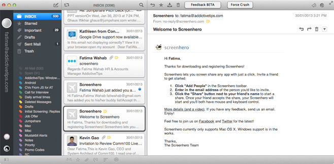 best email client for mac 2013