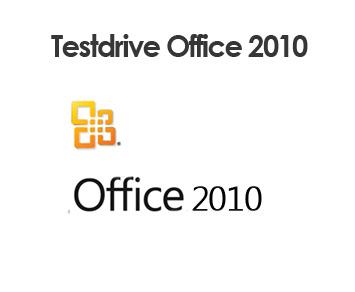 Test drive Microsoft Office 2010