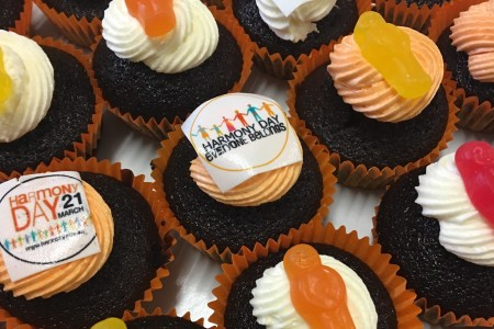 cupcakes for harmony day