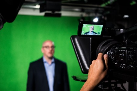 Green Screen Recording in LIH Studio - Photo by Mike Catabay for LIH