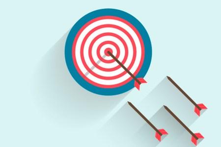 darts and a target