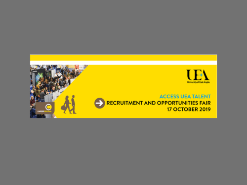 UEA Recruitment and Opportunity Fair 2019