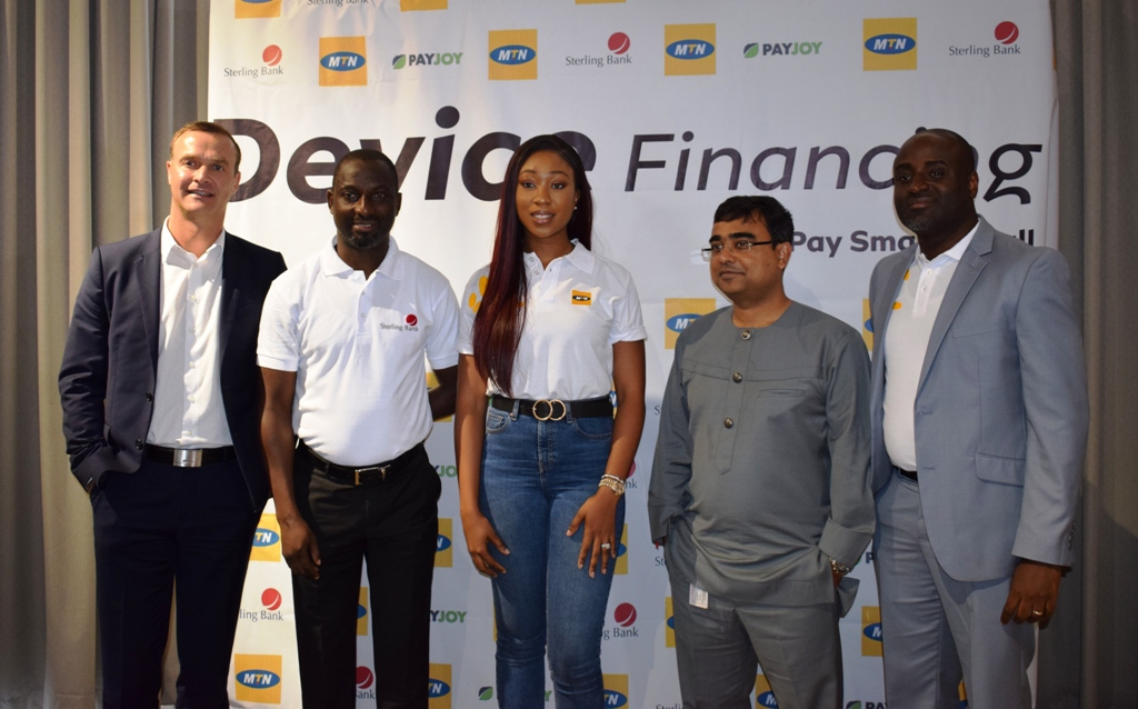 MTN Partners PayJoy, TD Mobile, Sterling Bank on device