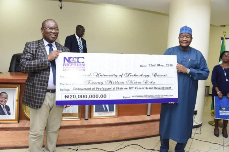 NCC professorial chairs in Futo and Buk