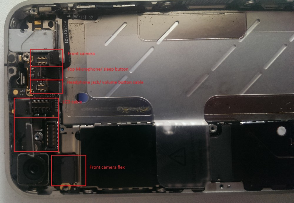 medium resolution of side wards view of the logic board
