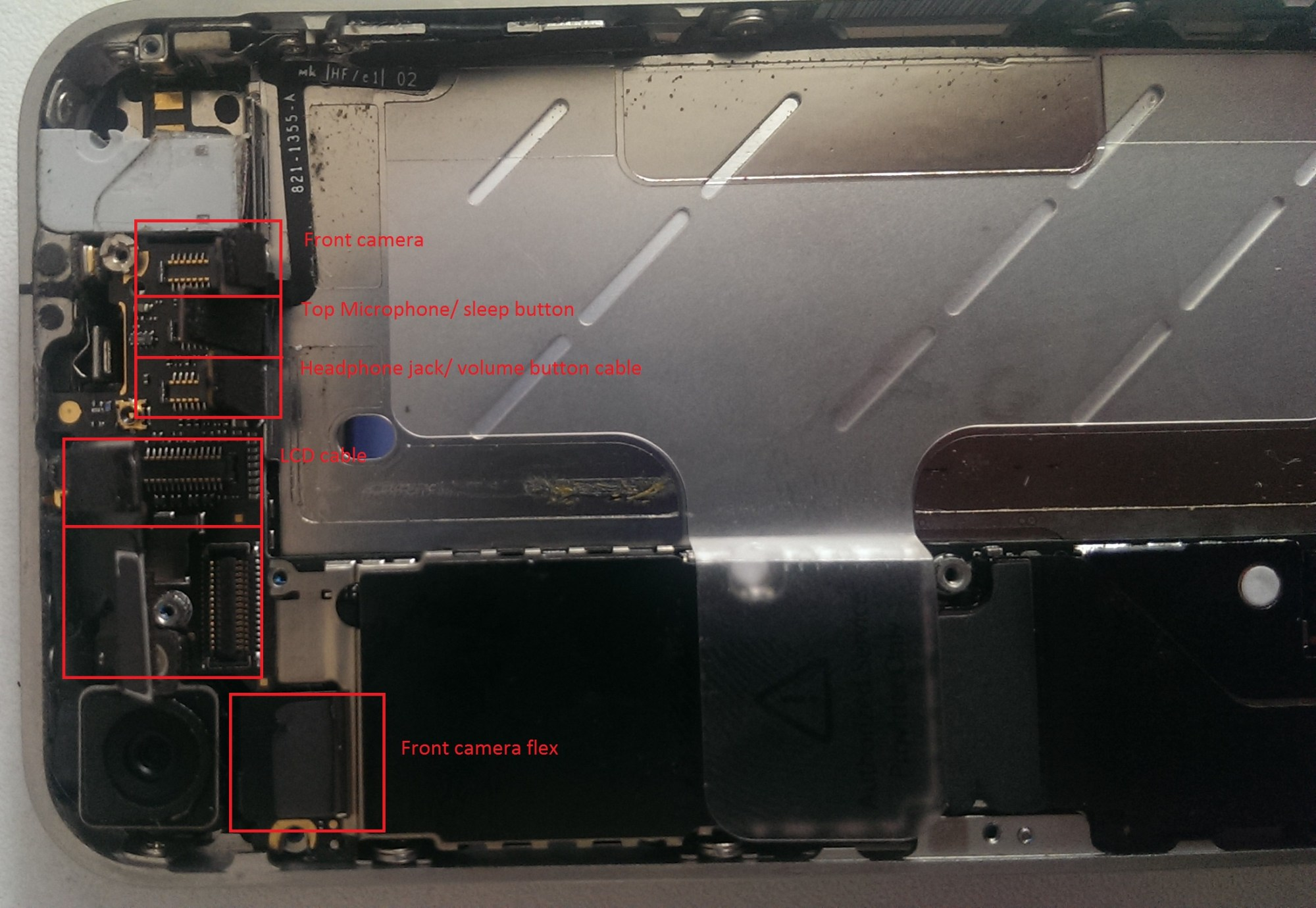 hight resolution of side wards view of the logic board