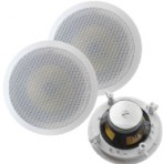 8″ 70 volt inceiling speakers pair