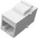 Cat5e Coupler Keystone – White