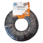 SD 100'/30.5M RG6 COAX CABLE WITH ENDS – BLACK