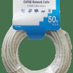 SD CAT6E CABLE LIGHT GREY/WHITE