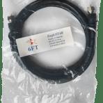 EagleStar 6′ RG6 Cable – Black