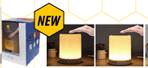 SMART TOUCH LAMP BLUETOOTH SPEAKER + ALARM CLOCK + FM RADIO – WHITE MOOD LIGHTING