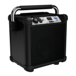 Ion Job Rocker Plus Rugged Bluetooth Speaker