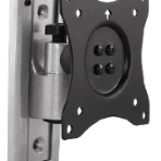"""13 – 27"""" Pivoting Ideal for RV's – Locking Knob Protects TVs from vibration damage in transit. Slide-in Wall Plate For 13"""" -27"""" screen"""