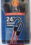 "HIGHLAND 2PK 24"" Bungee Cords"
