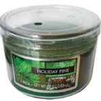 Candle-Lite Holiday Pine Triple-Wick 10oz Candle
