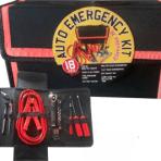 18 Piece Auto Emergency Kit