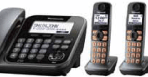 Panasonic Digital Corded/Cordless Answering DECT 6.0 System (1 Corded, 3 Cordless Handsets)