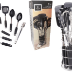 Gibson Home® Chef's Better Basics 9-Piece Kitchen Utensils with Caddy